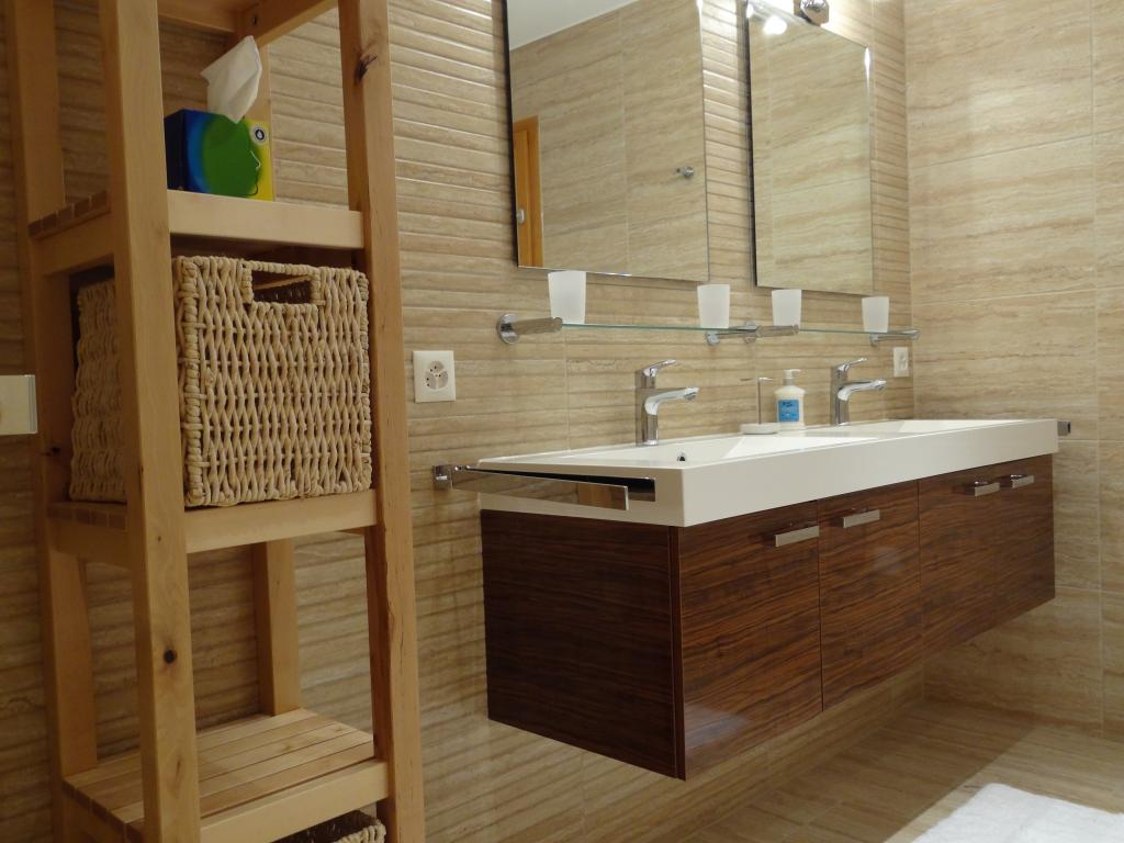 Salle De Bain Sauna bathrooms, hot tub & sauna - chalet charbray